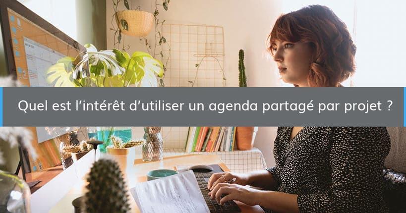 agenda partage projet interet blog - Wimi