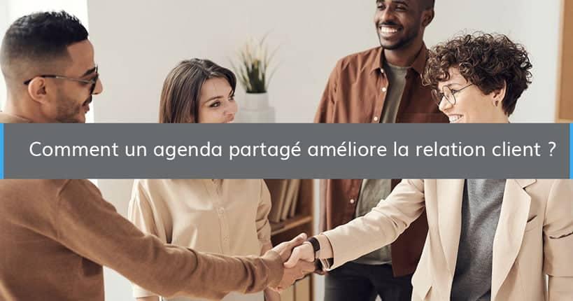 agenda partage relation client blog - Wimi