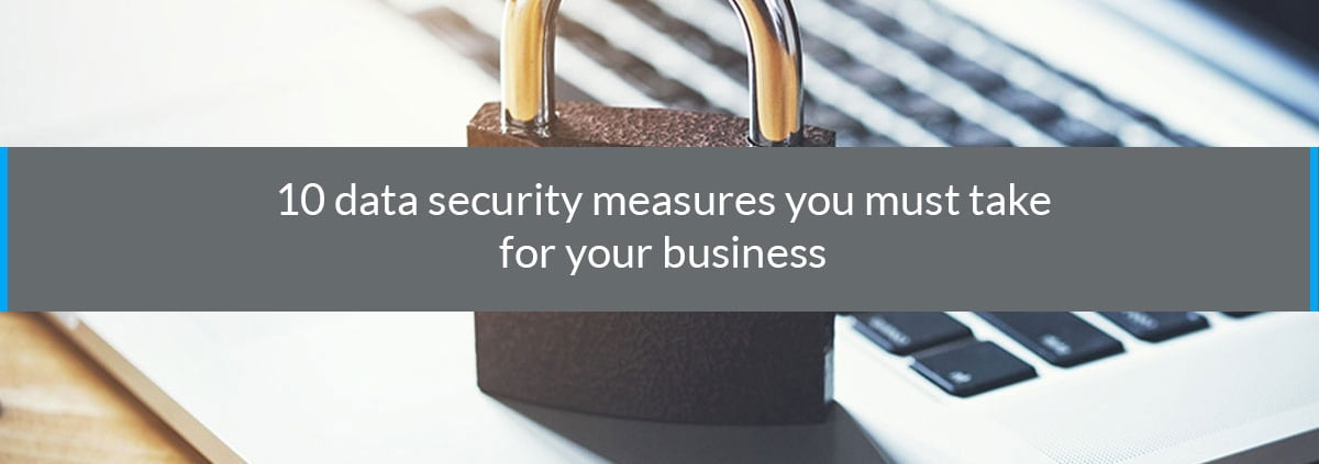 data security measures business