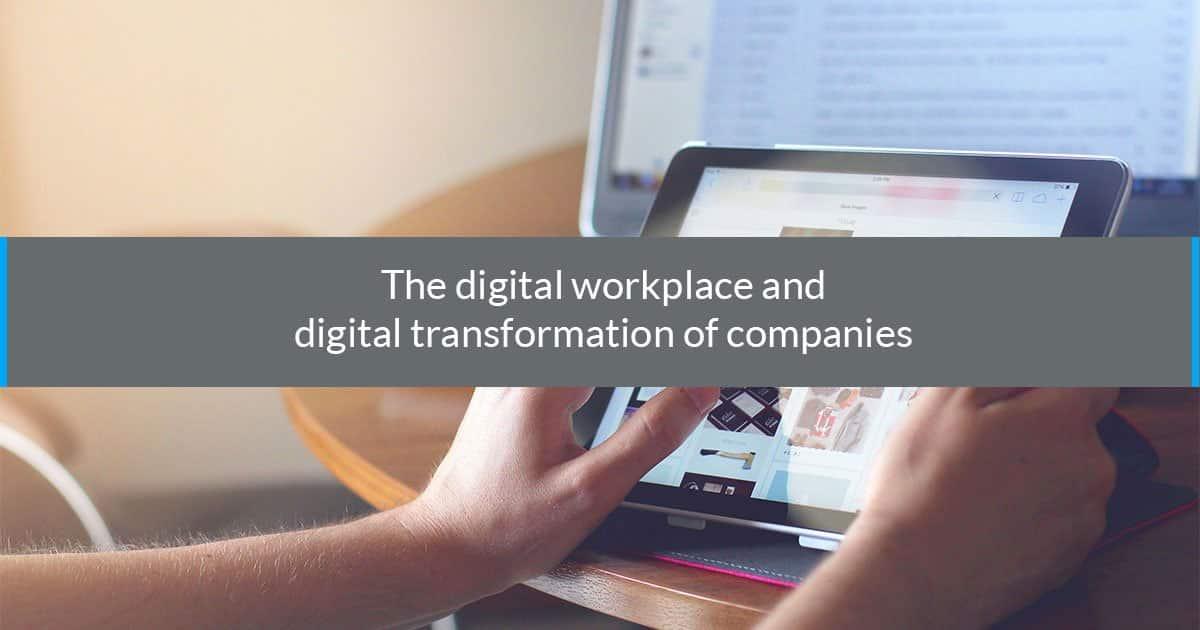 digital workplace digital transformation companies