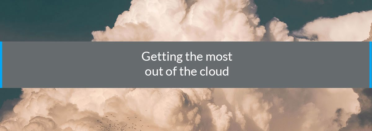 getting most cloud