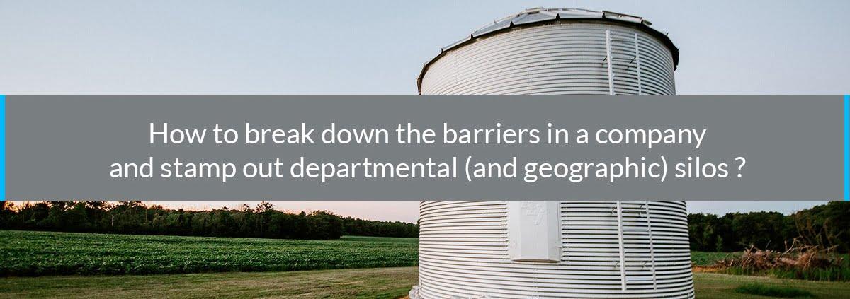 how break down barriers company
