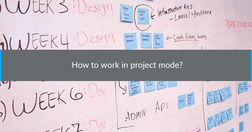 work project mode