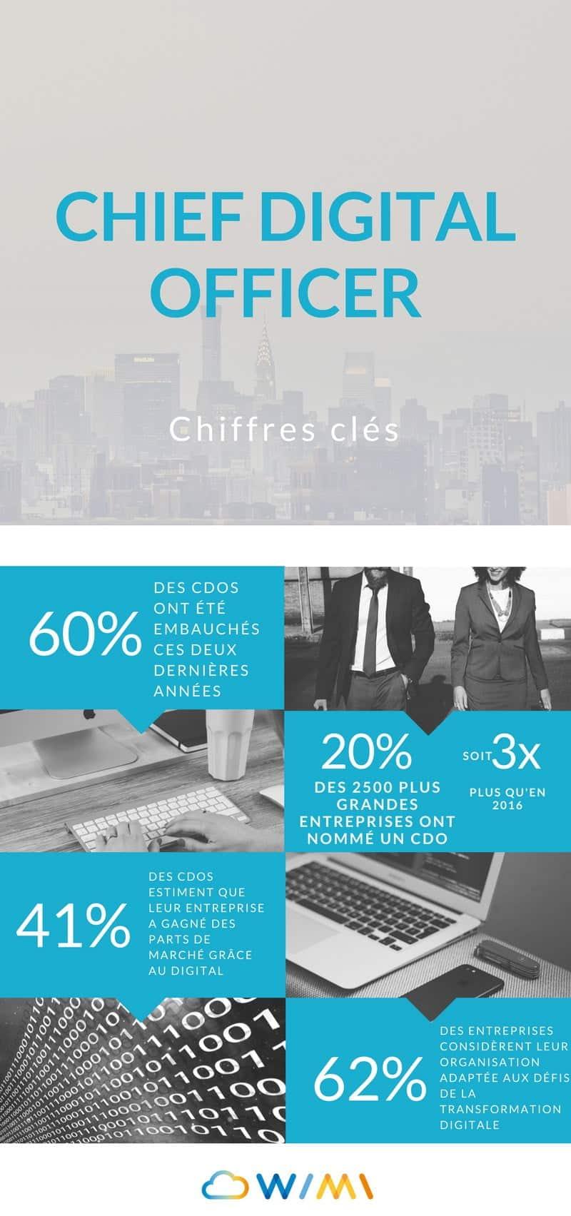 Infographie - Chief Digital Officer CDO