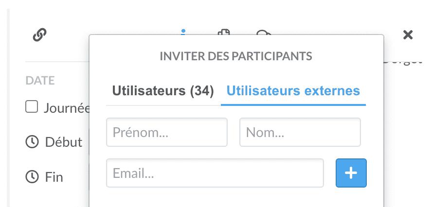 invitation externe evenement wimi