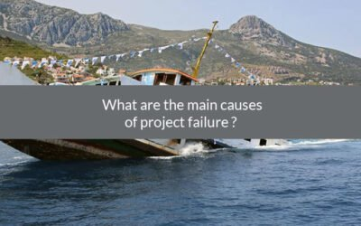 What are the main causes of project failure?
