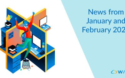 News from January and February 2020 on Wimi