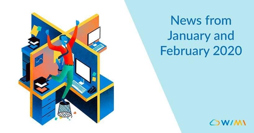 news from wimi january february 2020