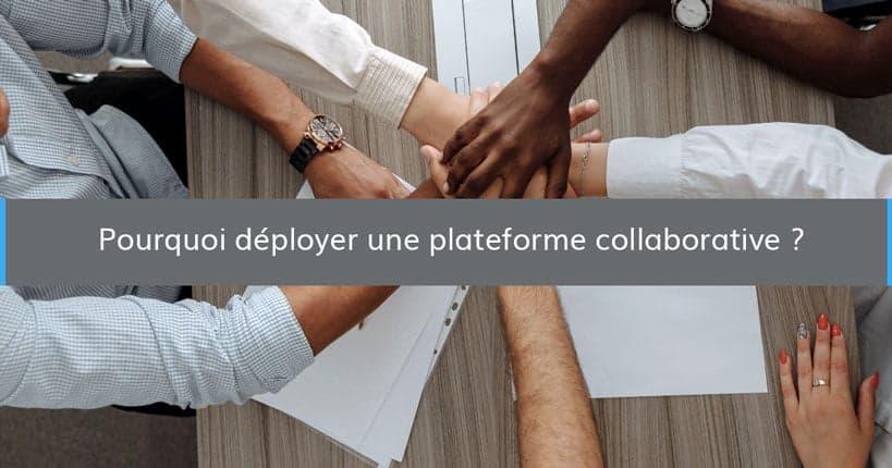 pourquoi deployer plateforme collaborative blog - Wimi