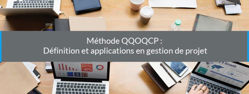 QQOQCP définition applications gestion projet