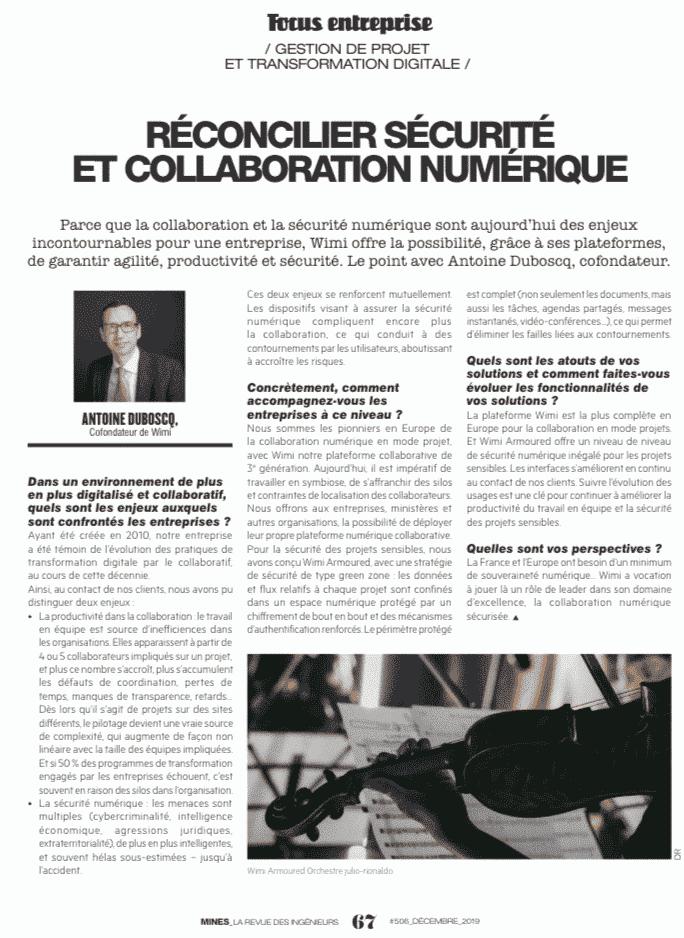 Comment réconcilier sécurité et collaboration numérique ? - Presse