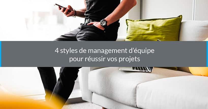 style de management d'équipe