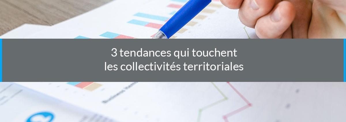 tendances collectivités territoriales