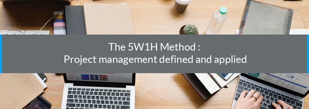 the 5W1H method