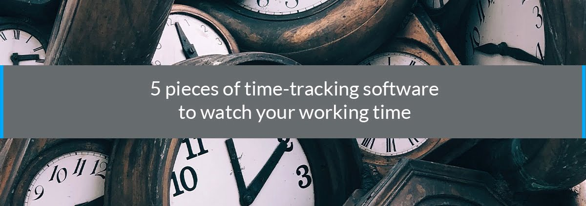 5 pieces of time tracking softwares
