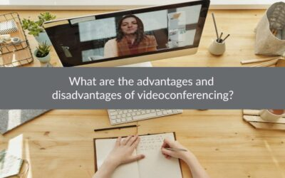 What are the advantages and disadvantages of videoconferencing?