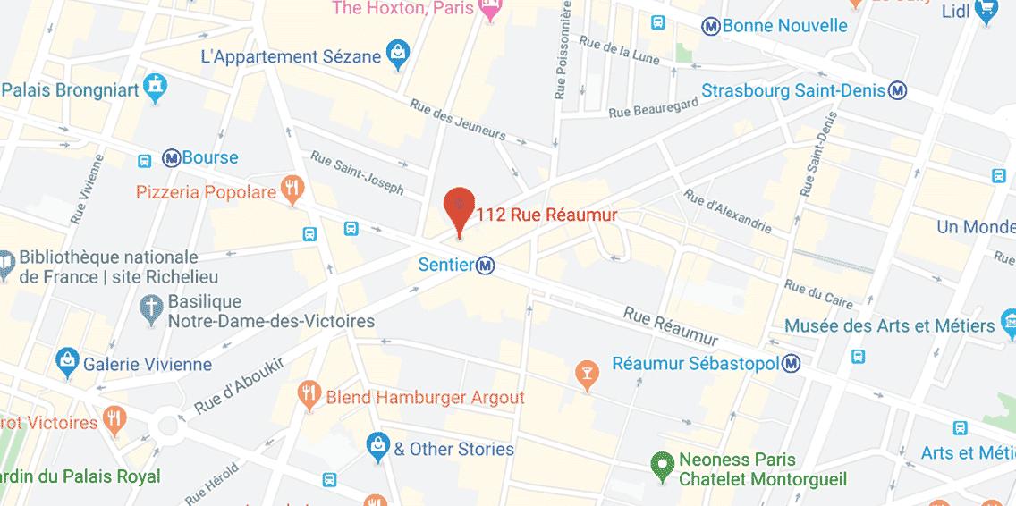 wimi adresse paris maps 1 - Wimi
