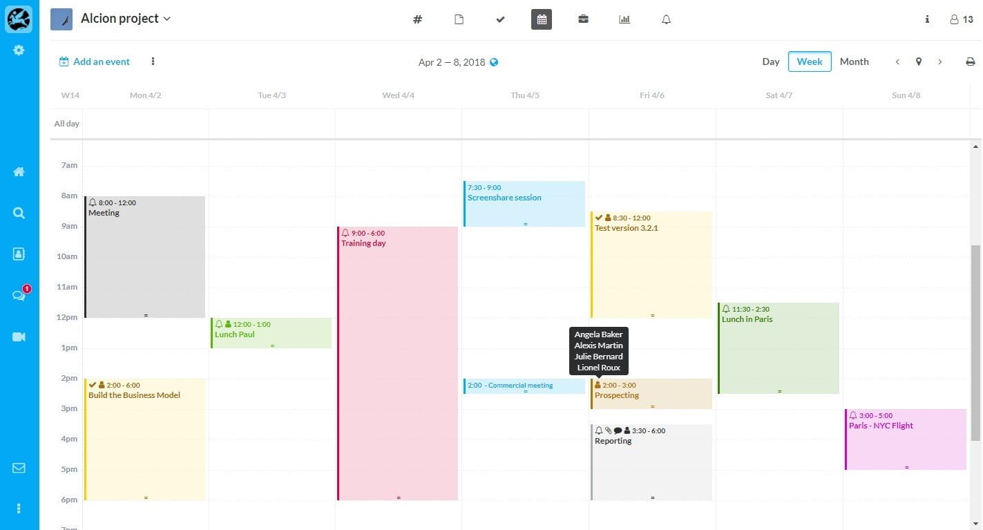 Online Shared Calendar for Business -